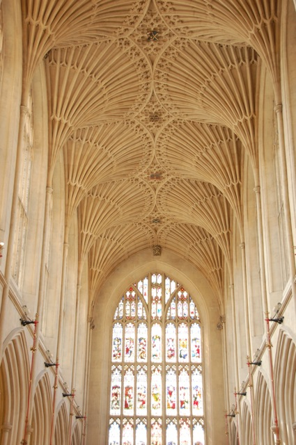 buttressed ceiling