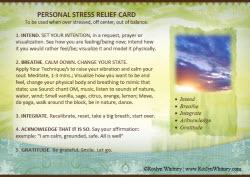 Serene Card